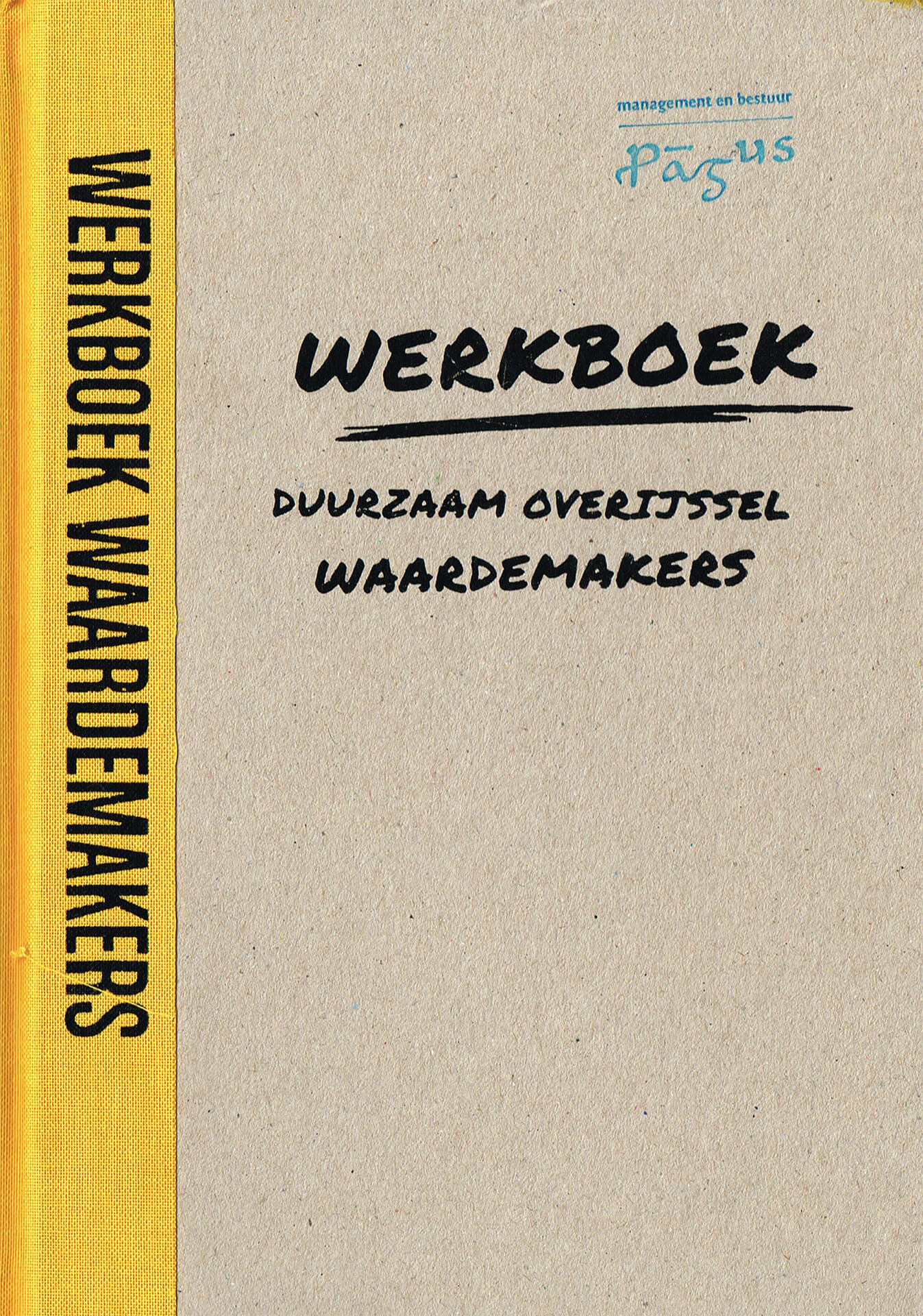 Werkboek Waardemakers